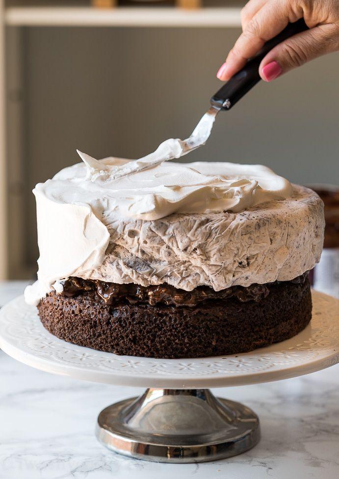 Homemade Oreo Ice Cream Cake Recipe Homemade Ice Cream Cake