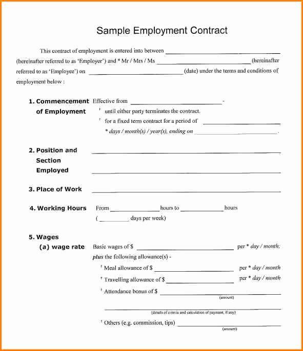 Salary Agreement Letter Elegant 9 Salary Contract Template Contract Template Contract Lettering