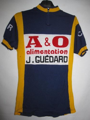 Maillot cycliste Vintage tricots du rocher A et O Alimentation CCR Ancien - M