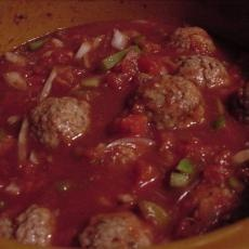 Veal Meatballs In Red Wine Sauce Recipes — Dishmaps