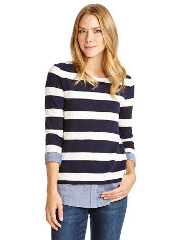 Jenny Shirt Tail Pullover