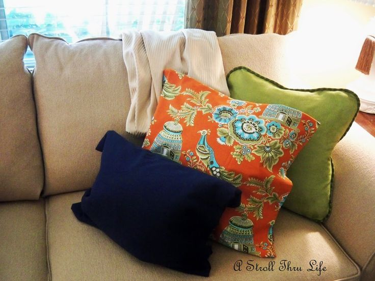 Blue Yellow And Orange Living Room Google Search