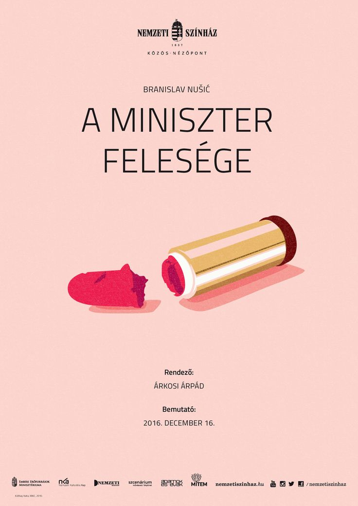 Poster for National Theatre, Budapest