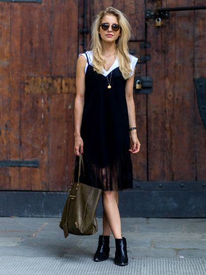 For women who only wear black, the summer months can seem sartorially bleak. With shop racks and window displays touting pastels, neons, and prints, y...