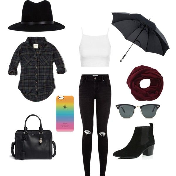 Untitled // 7 by lucywerta on Polyvore featuring polyvore fashion style Abercrombie & Fitch Topshop River Island Alexander McQueen rag & bone Ray-Ban