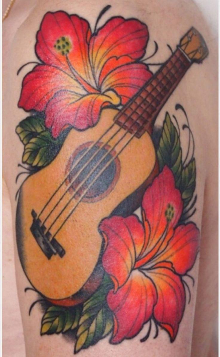 Ukulele tattoo