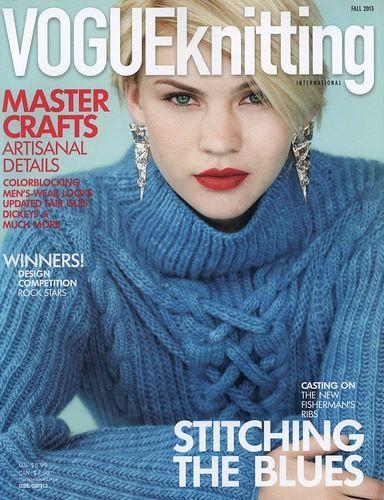 Vogue Knitting FALL 2013