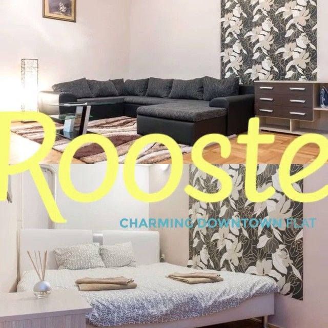 A charming, fully-furnished, 2 bedroom apartment with a unique ambiance. Relax in this stylish urban flat with garden access in the heart of the city for an affordable price. #airbnb http://www.rooste.co/ZaPrQ