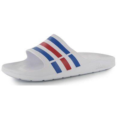adidas | adidas Duramo Slide On Men\u0027s Pool Shoes | Men\u0027s Sandals and Flip  Flops