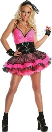 Adult Totally Pink 80s Costume