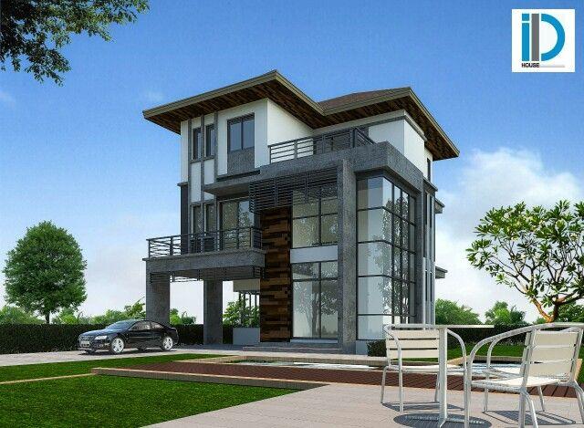 Modern 160 ตรม มี 4ห้องนอน 3ห้องน้ำ ห้องครัว pantry รับแขก   line:id-house 087-408-0860