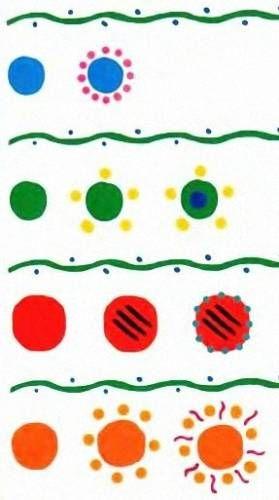 Dymkovo patterns