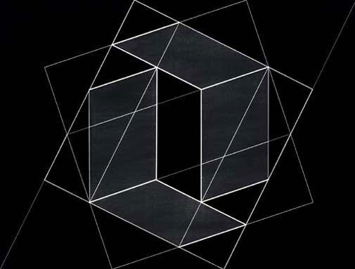 Josef Albers  'Structural Constellation, Transformation of a Scheme No.12′  1950