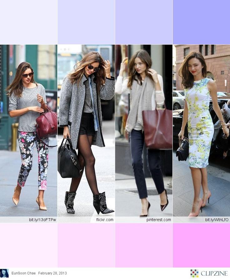 Miranda Kerr Fashion Style Clipzine Pinterest