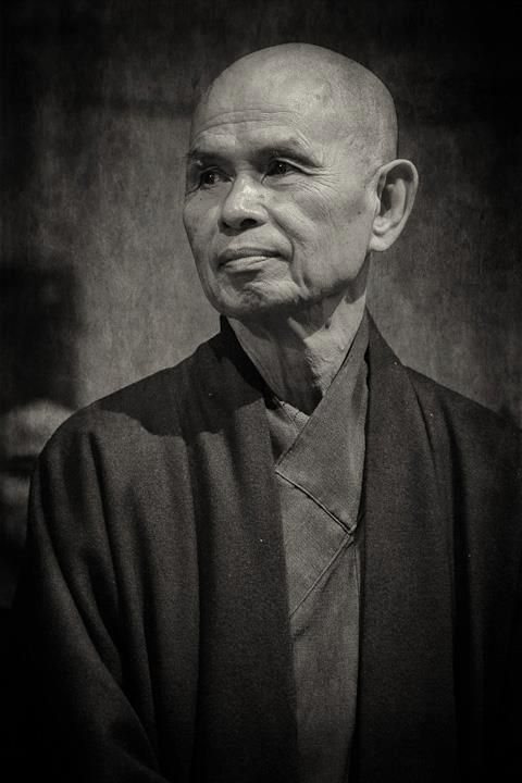 Who is Thich Nhat Hanh?  Who is Thich Nhat Hanh? Thich Nhat Hanh is a Vietnamese Zen Buddhist monk, teacher, author, poet and peace activist. Born October 11, 1926, he lives in the Plum Village Monastery in the Dordogne region in the South of France. Hanh travels internationally to give retreats and talks. Hanh is active in the peace movement and promotes ways to solve conflict without violence. Spread by www.fairtrademarket.com supporting #fairtrade and #novica