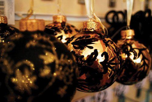 16 best images about black christmas tree ideas on. Black Bedroom Furniture Sets. Home Design Ideas