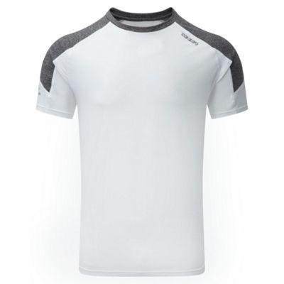 Tog 24 White/grey marl stride tcz stretch t-shirt- at Debenhams.ie
