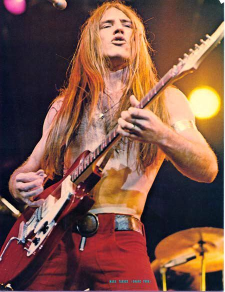 Mark of grand funk railroad, loved his hair