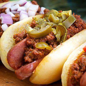Coney Dog Sauce.    Our Most Popular Hot Dog Recipes - Lunch - Recipe.com
