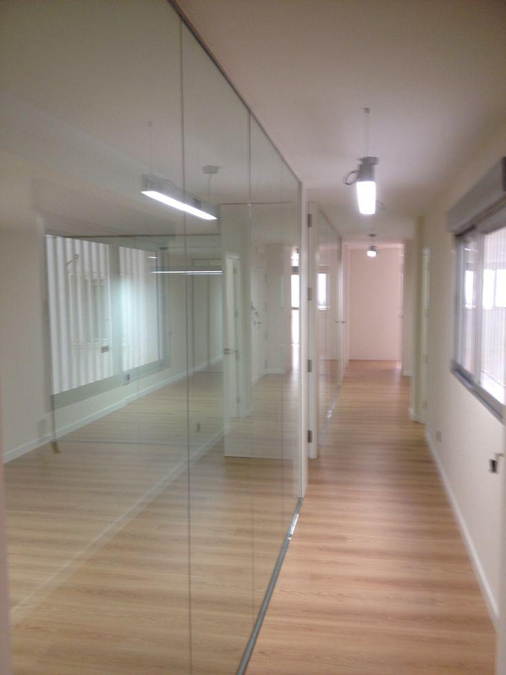 #Reforma entreplanta (locales) para adecuarlas a #Oficinas de #Abogados en Alicante. (Tabique de cristal)