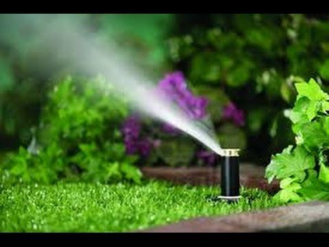 How to Install In-Ground Sprinklers - This Old House - YouTube
