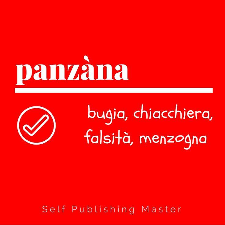 panzana - Parole nuove, parole rare - Libroza.com