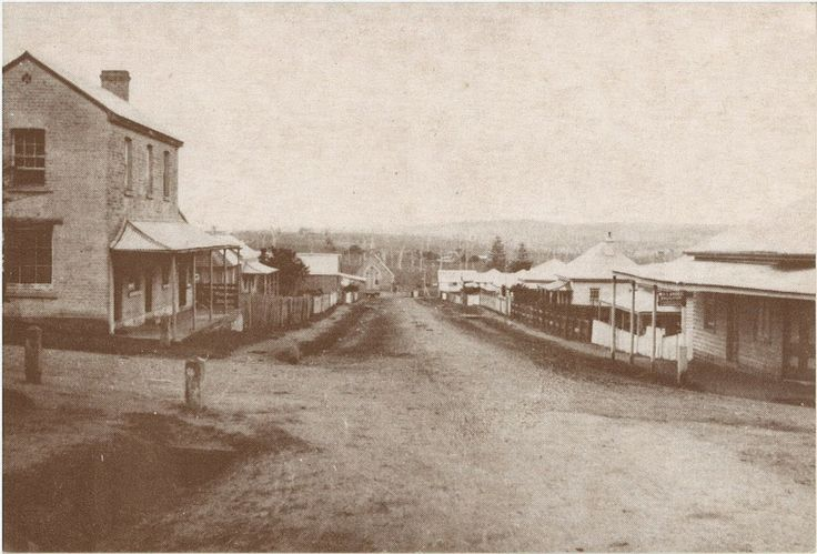 Photo of Wason Street, Milton,NSW, Australia circa 1912-1914.