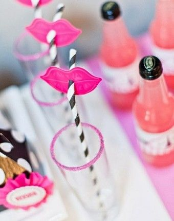 Bachelorette Party Lipstick Straw Flags 340x430 Inspiration and Ideas: Bachelorette Parties