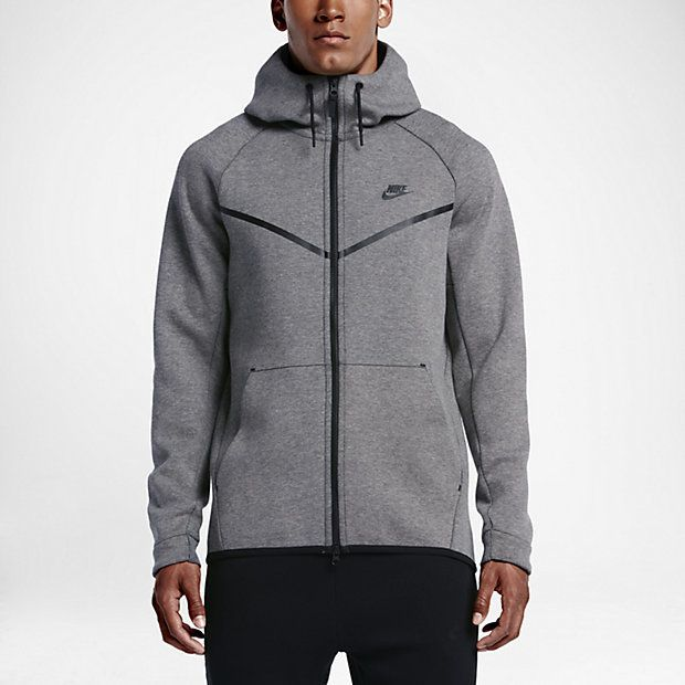 THE ORIGINAL RUNNING JACKET, UPDATED. The Nike Sportswear Tech Fleece Windrunner Men's Hoodie is redesigned for cooler weather with smooth, engineered fleece that offers lightweight warmth. Bonded seams lend a modern update to the classic chevron design. Benefits Nike Tech Fleece fabric is soft, light and warm Articulated sleeves and curved seams allow natural range of motion Three-panel hood with visor for comfortable coverage Curved dropped hem for enhanced coverage Product Details…