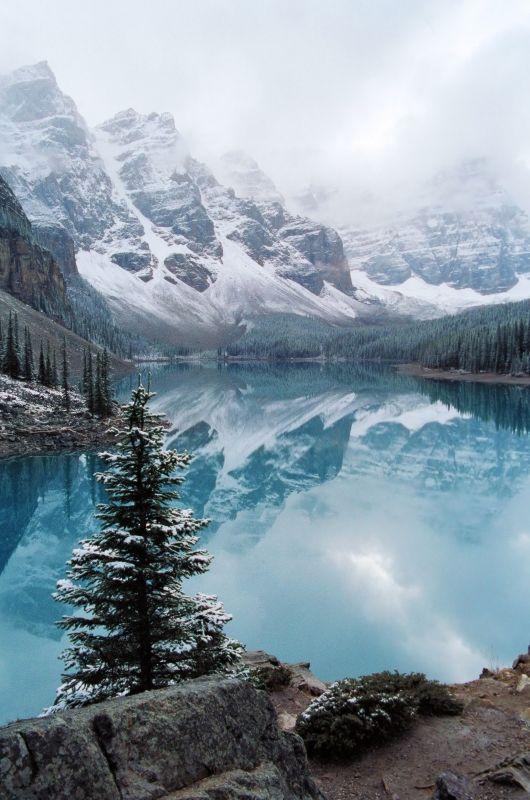 Moraine Lake Banff N.p, Alberta Canada, Photo By Jane Timmerman