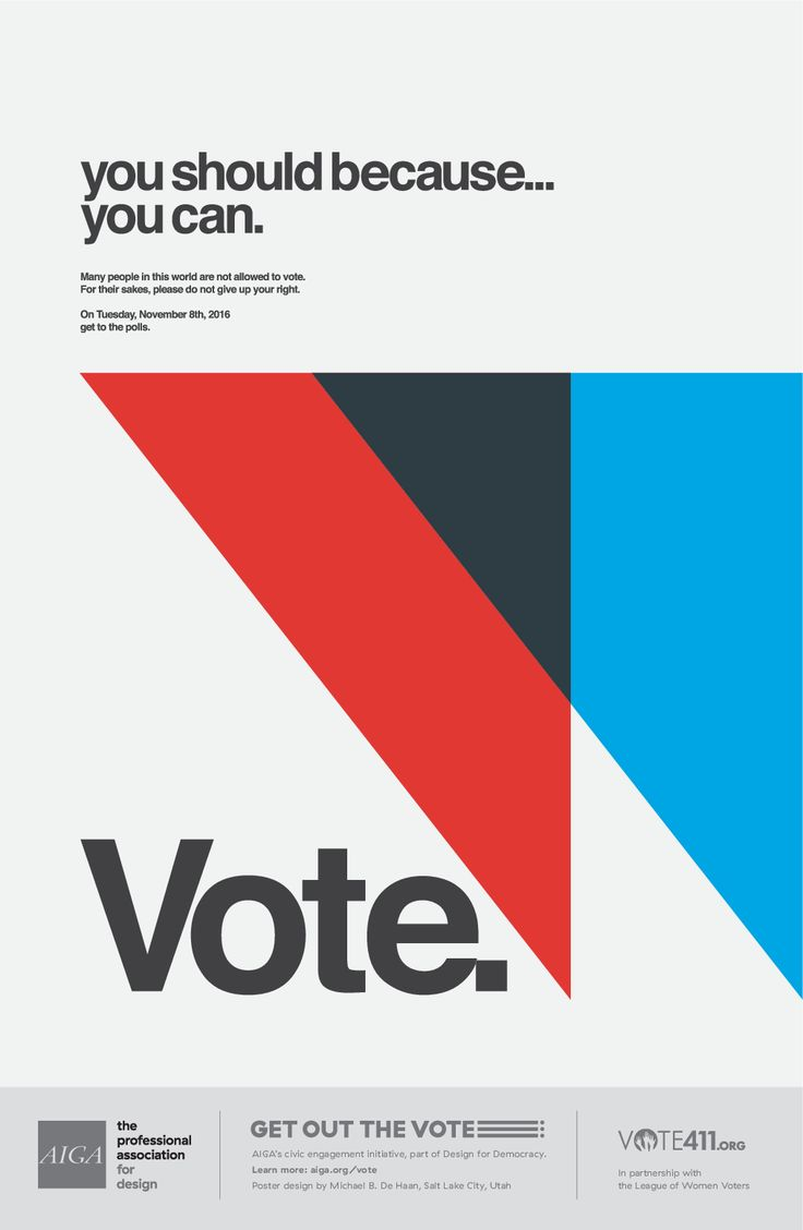Poster design 2016 - Find This Pin And More On Voting Posters By Hehudesigns