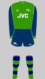 1982-1983 Arsenal Kit