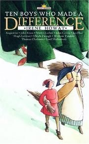 Cover of: Ten Boys Who Made a Difference (Light Keepers) by Irene Howat (in TAL)