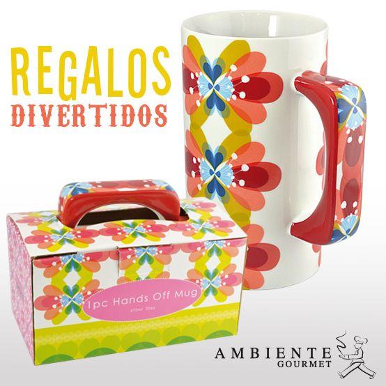 Este mug ya viene listo para regalar, sorprende a esa persona especial con un divertido mug.