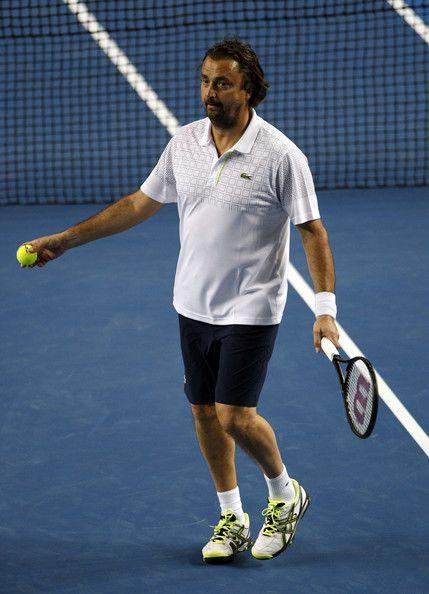 Henri Leconte - 2014 Australian Open - Day 6
