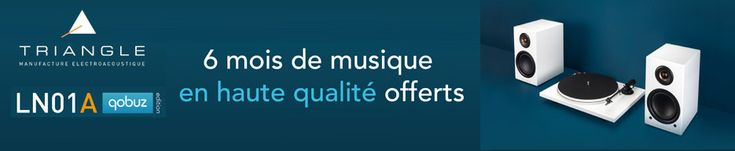 Vos musiques préférés en HD pour l'achat d'une paire d'enceinte #Triangle grâce à #qobuz #audio #hifi #son