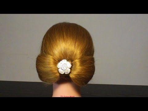 "▶ Прическа ""Бант из волос ""/ Lady Gaga Inspired Hair Bow - YouTube"