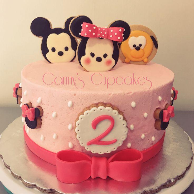 Tsum Tsum Cake Reposteria Baby Birthday Cakes Cake