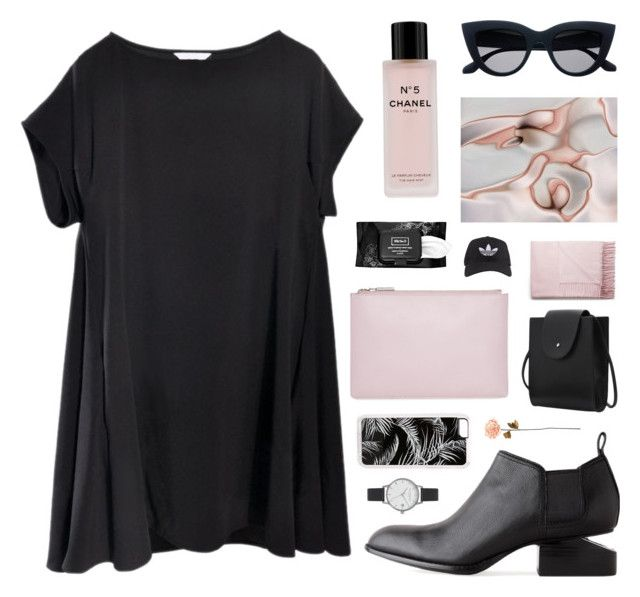 trembling hands by jesicacecillia on Polyvore featuring Alexander Wang, Whistles, Olivia Burton, Zero Gravity, Acne Studios, adidas, Chanel, Kat Von D and Shabby Chic