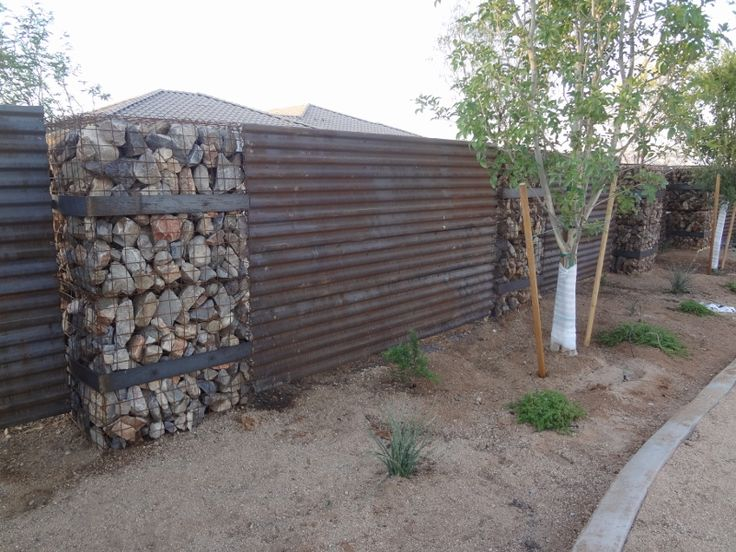 corregated metal fence | additional steel projects rock projects concrete projects faq media ...