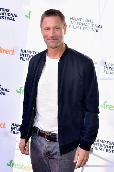 Aaron Eckhart Photos - Actor Aaron Eckhart attends the Bleed for This Screening during The Hamptons International Film Festival 2016 at Guild Hall on October 7, 2016 in East Hampton, New York. - Hamptons International Film Festival 2016 - Day 2