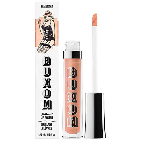 BUXOM Lip Gloss in Samantha- best nude gloss EVER!!