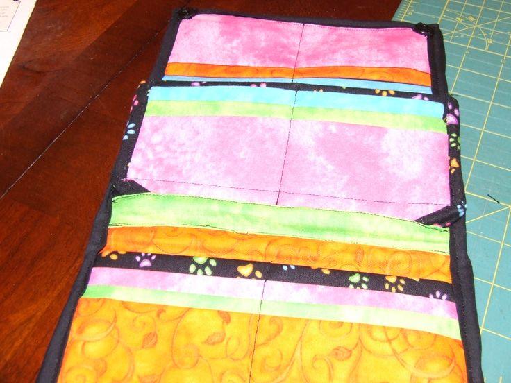 paw print wallet (inside)