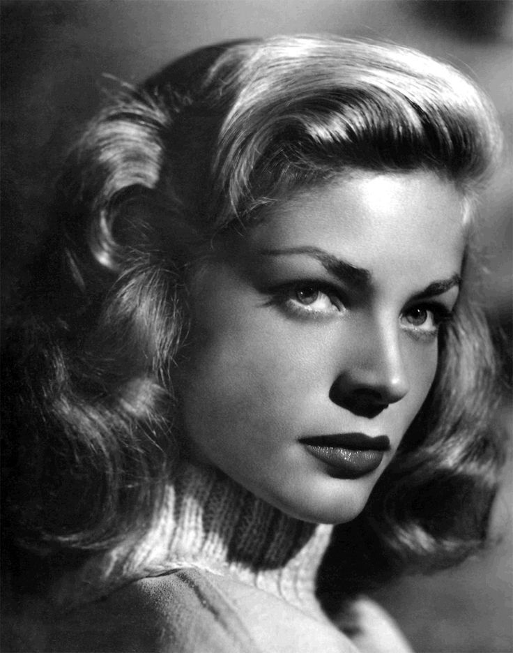 Lauren Bacall -  September 16, 1924 to November 26, 2012 at the age of 88.