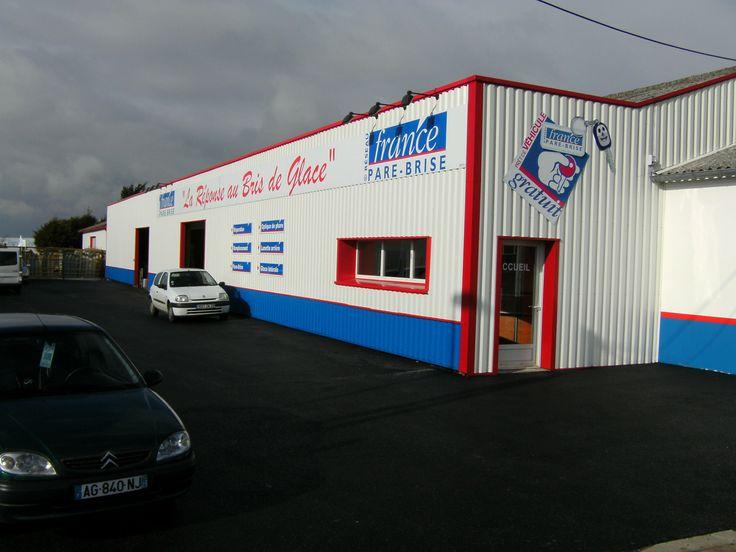 Réparation d'impact, remplacement de pare brise cassé fissuré - France Pare Brise à Landerneau - Ploudaniel (29260) - Informations du centre