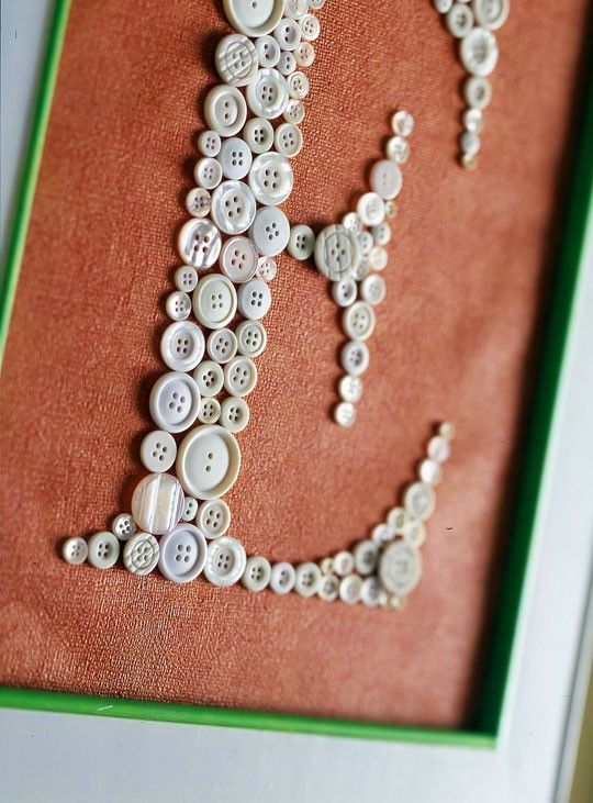 Button Letters! by melva