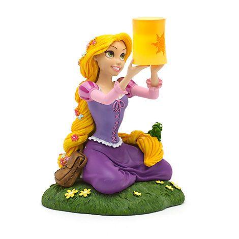 Disneyland Paris - Rapunzel Figur mit Lichteffekt