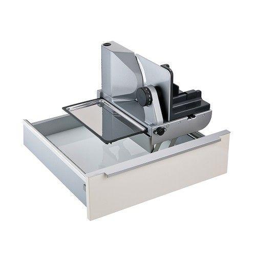 Ritter AES 72 SR Allesschneider in hochwertiger Vollmetallausführung für Schublade ab 45 cm / Schneidemaschine / Allesschneider / RITTER / Brotmaschine
