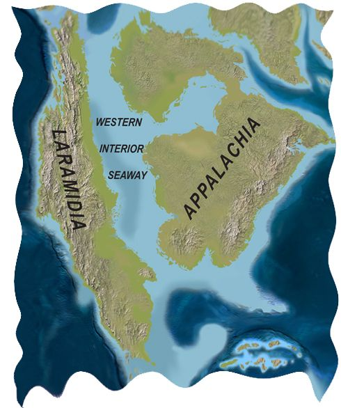 Laramidia and Appalachia - ancient pieces of North America ...