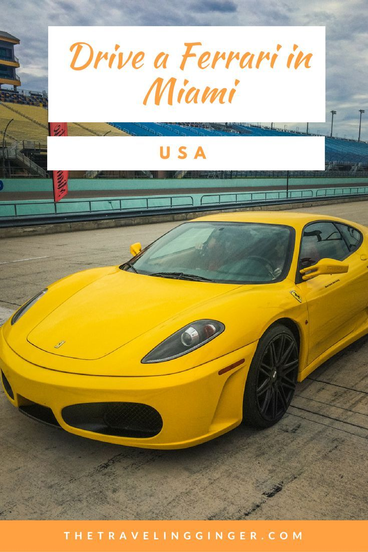 Drive A Ferrari In Miami The Traveling Ginger Travel Inspiration Wanderlust Traveling By Yourself Travel